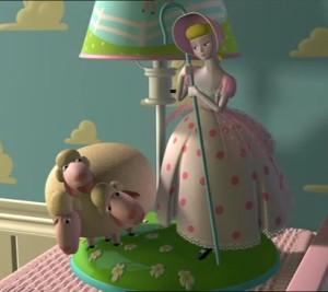 bo peep lamp