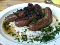 fiddlestix bangers and mash