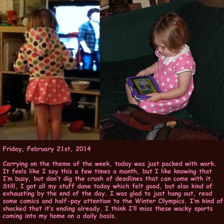 Friday, February 21st, 2014