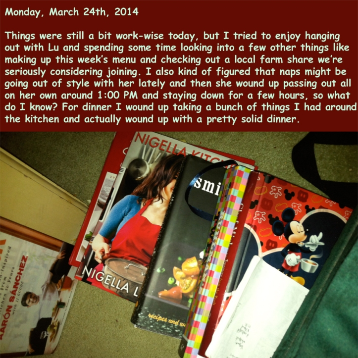 Monday, March 24th, 2014