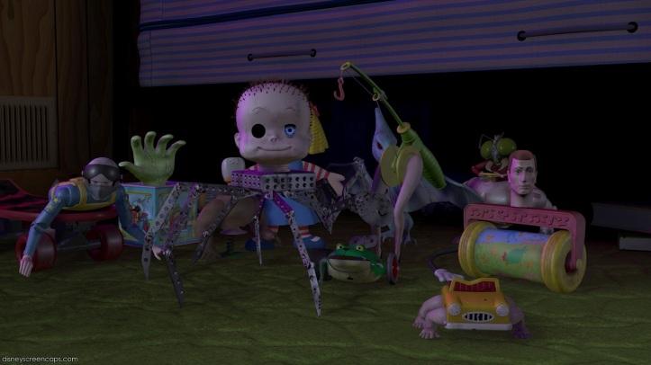 sids toys toy story