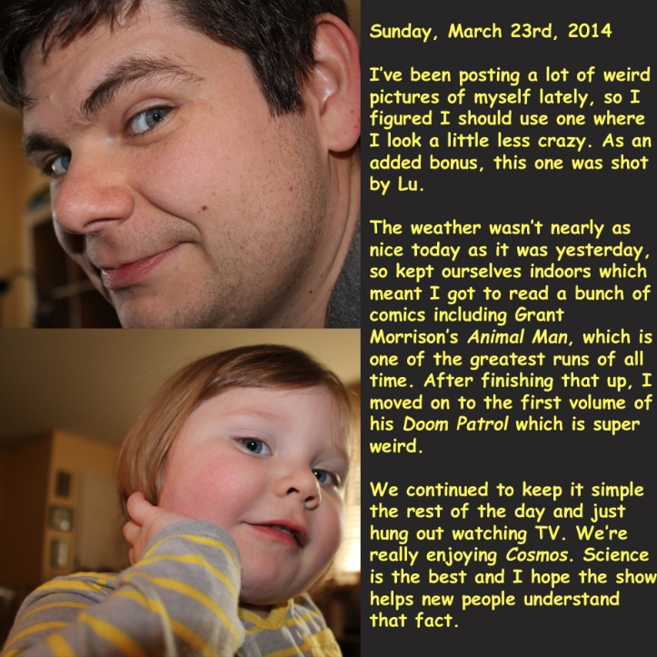 Sunday, March 23rd, 2014