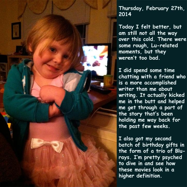 Thursday, February 27th, 2014