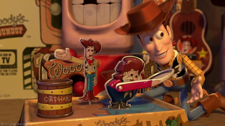 toy story 2 woody merch