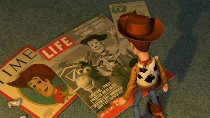woody toy story 2 magazines