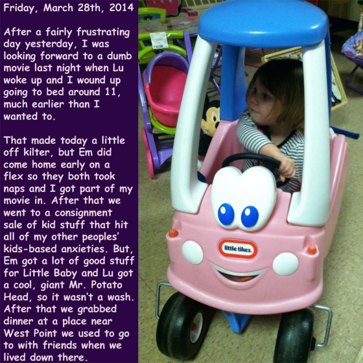 Friday, March 28th, 2014