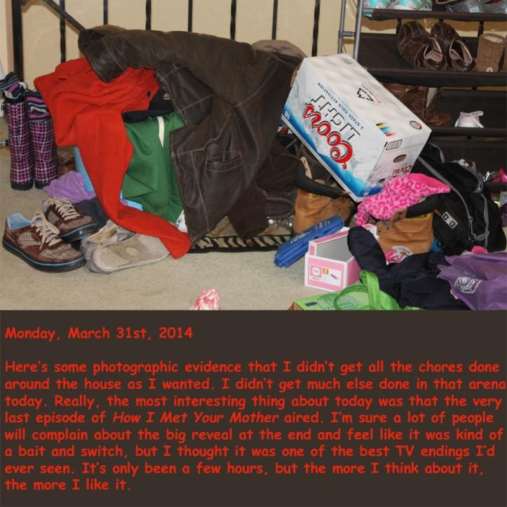 Monday, March 31st, 2014