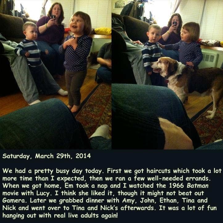 Saturday, March 29th, 2014
