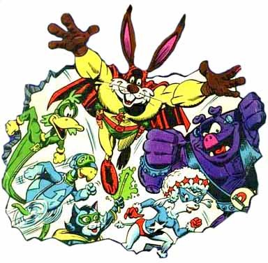 Captain Carrot Zoo Crew