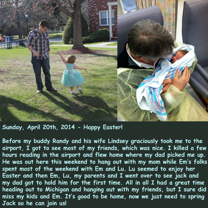 Sunday, April 20th, 2014