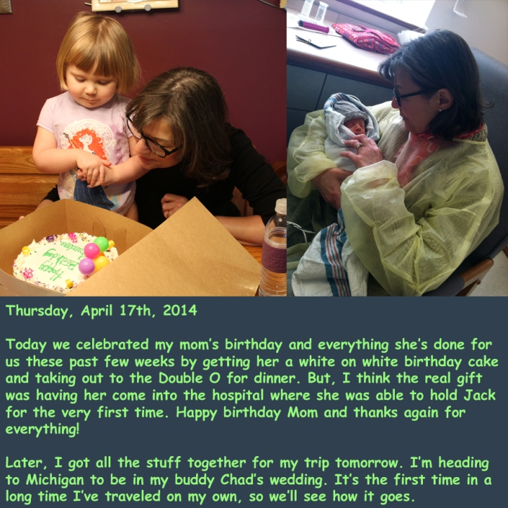 Thursday, April 17th, 2014
