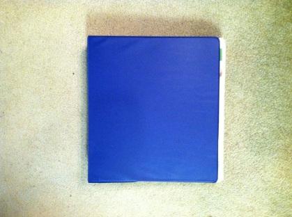 big blue binder 1