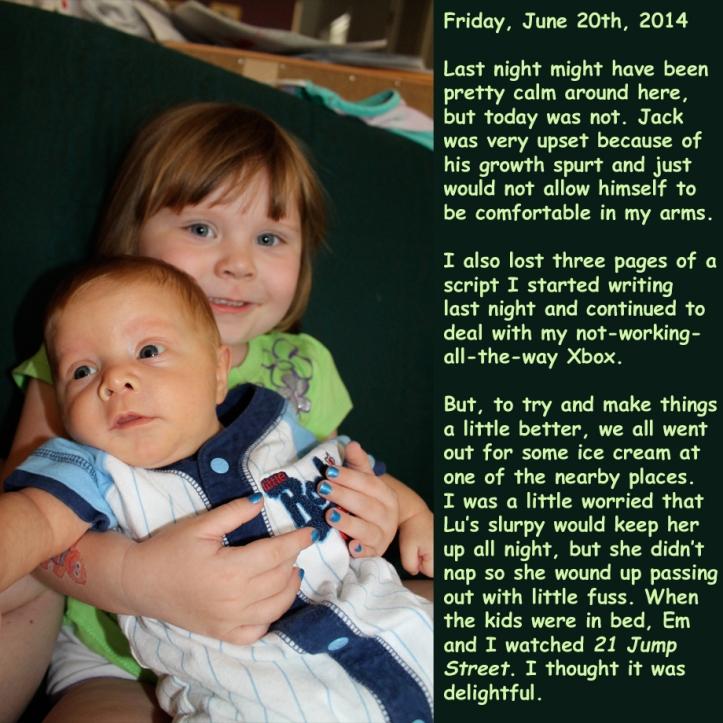 Friday, June 20th, 2014