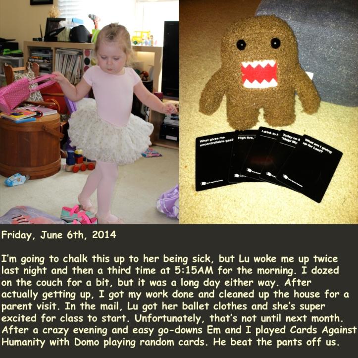 Friday, June 6th, 2014