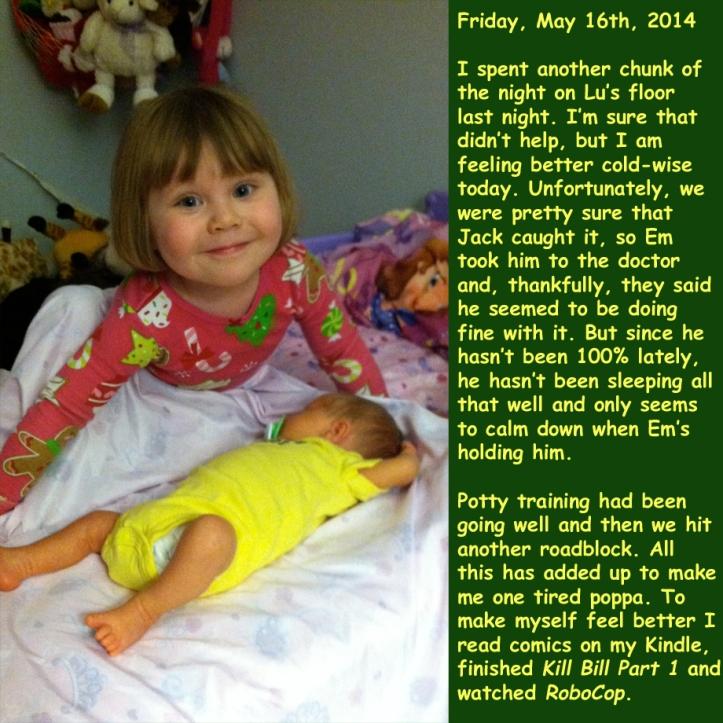 Friday, May 16th, 2014