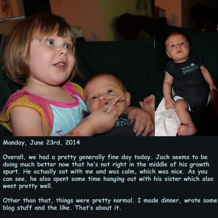 Monday, June 23rd, 2014
