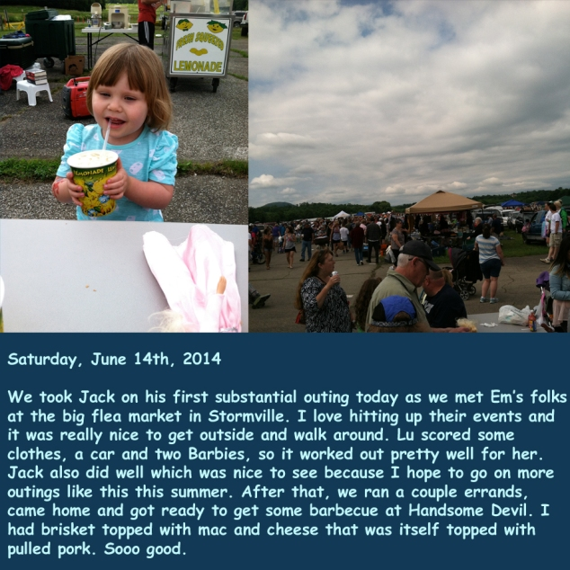 Saturday, June 14th, 2014