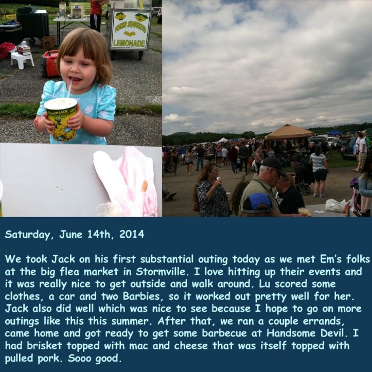 Saturday, June 14th, 2014