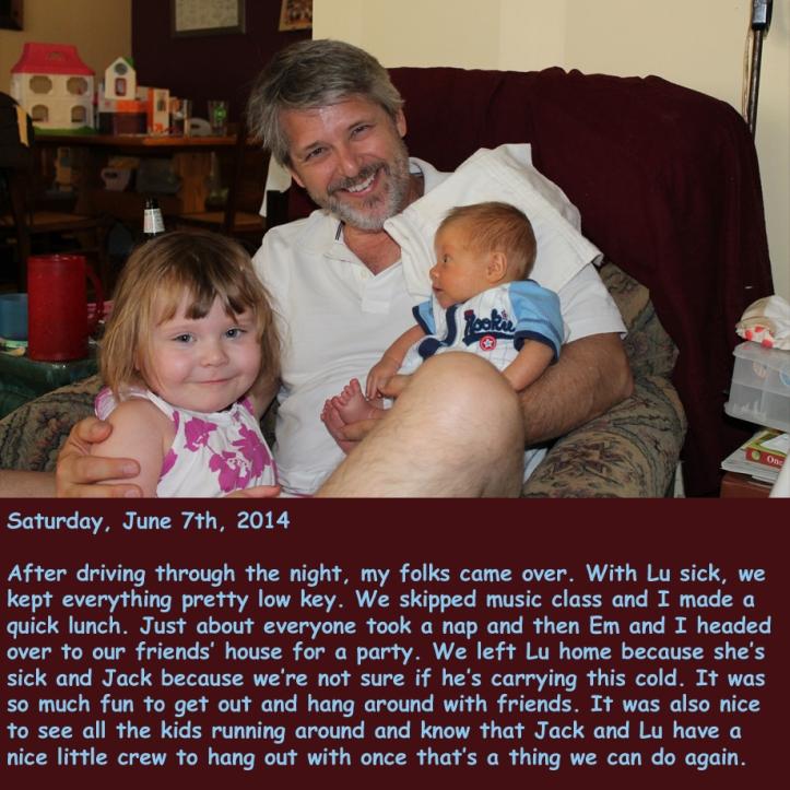 Saturday, June 7th, 2014