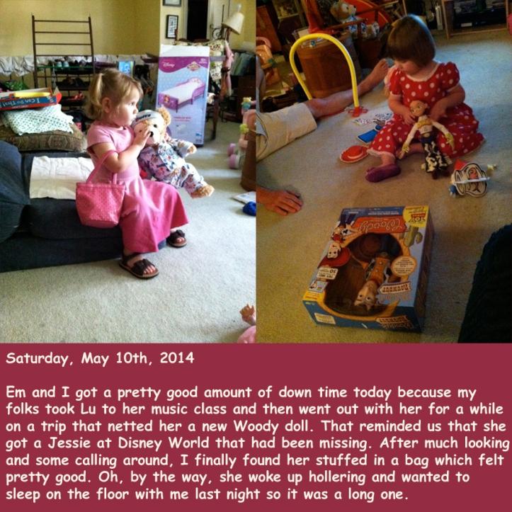 Saturday, May 10th, 2014