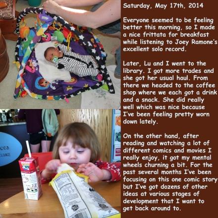 Saturday, May 17th, 2014