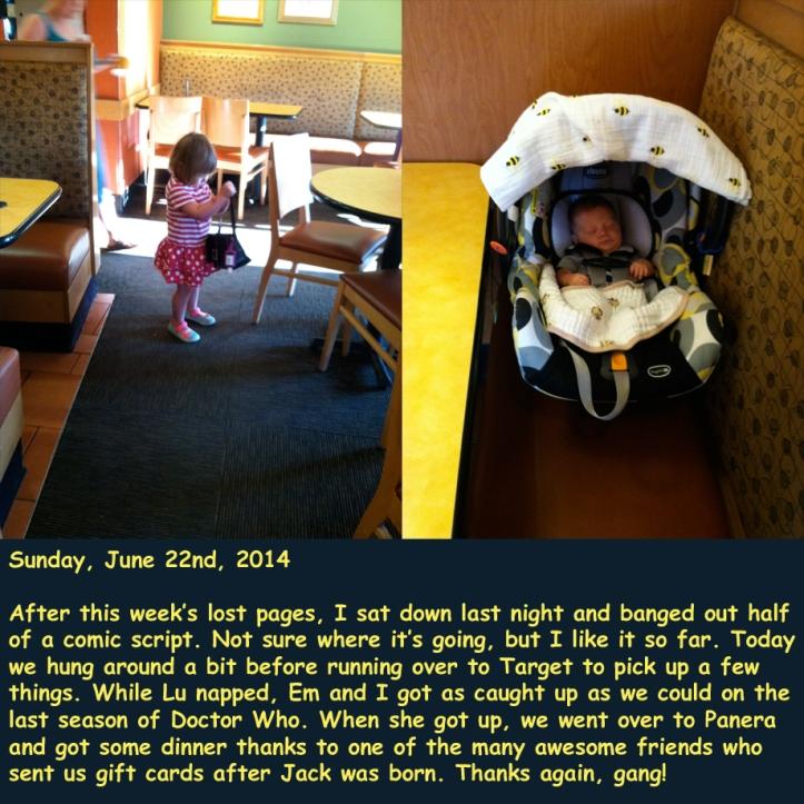 Sunday, June 22nd, 2014
