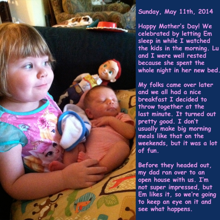 Sunday, May 11th, 2014