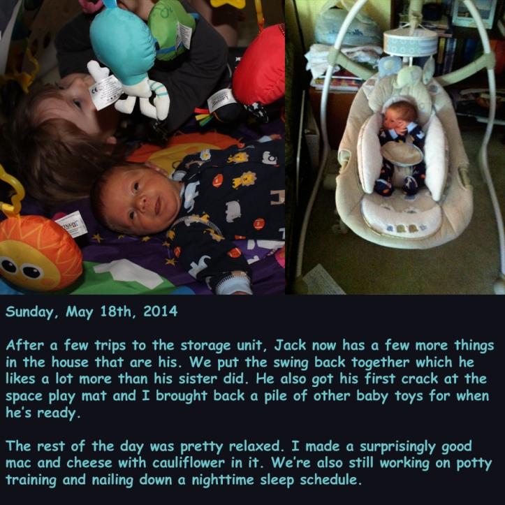 Sunday, May 18th, 2014