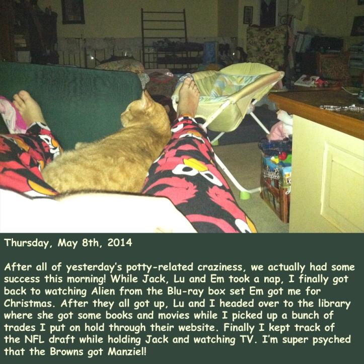Thursday, May 8th, 2014