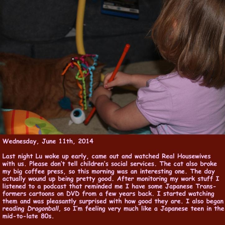 Wednesday, June 11th, 2014