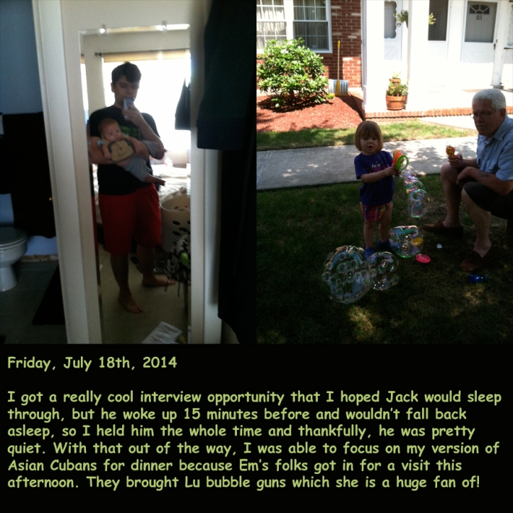 Friday, July 18th, 2014