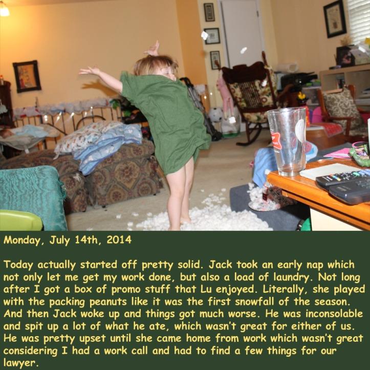 Monday, July 14th, 2014