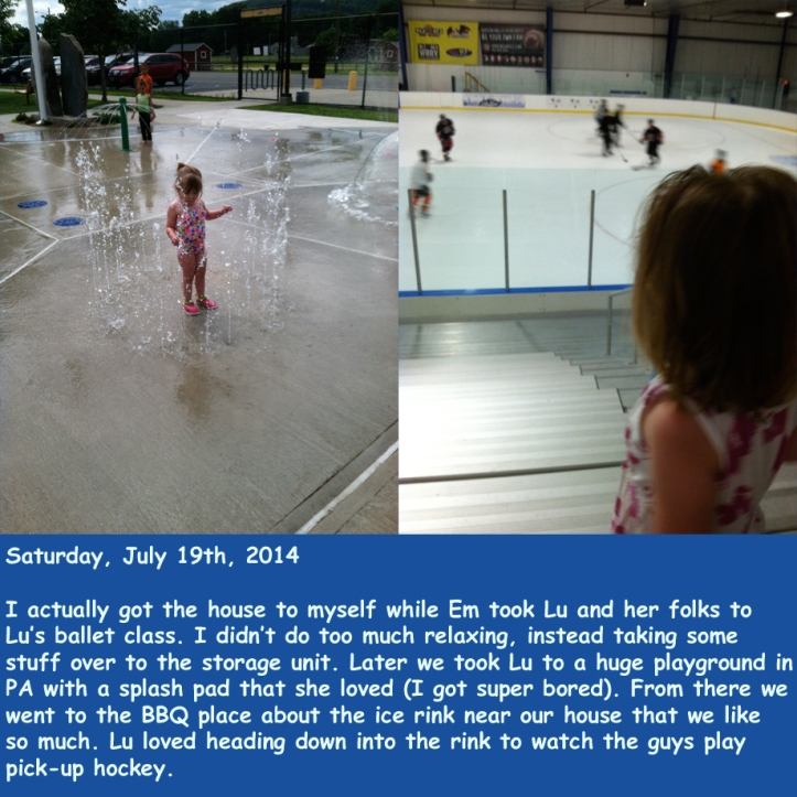 Saturday, July 19th, 2014