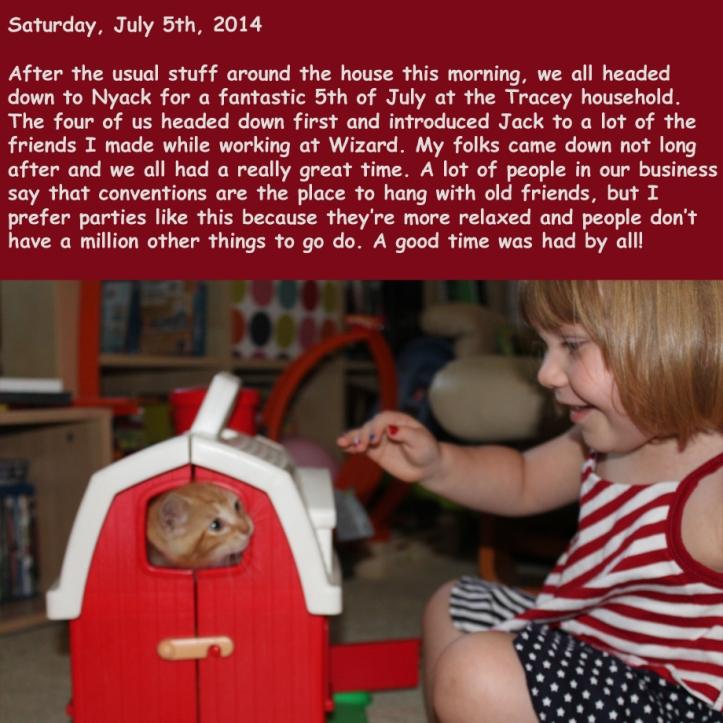 Saturday, July 5th, 2014