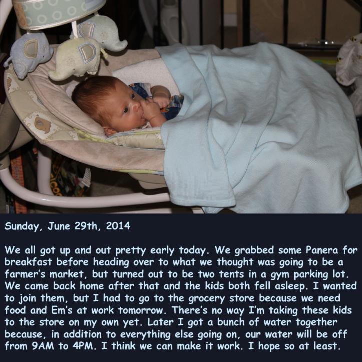 Sunday, June 29th, 2014