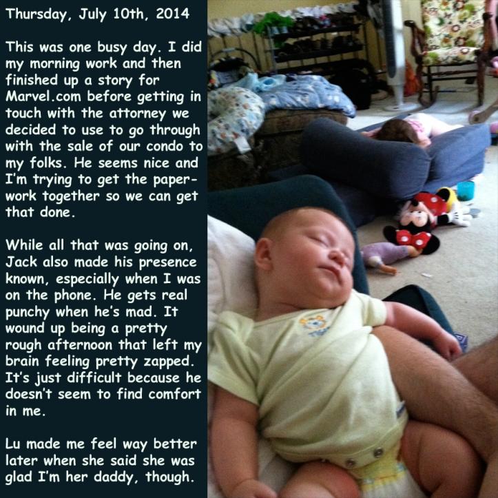 Thursday, July 10th, 2014