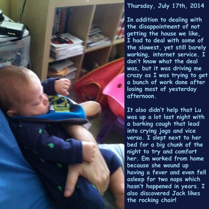 Thursday, July 17th, 2014