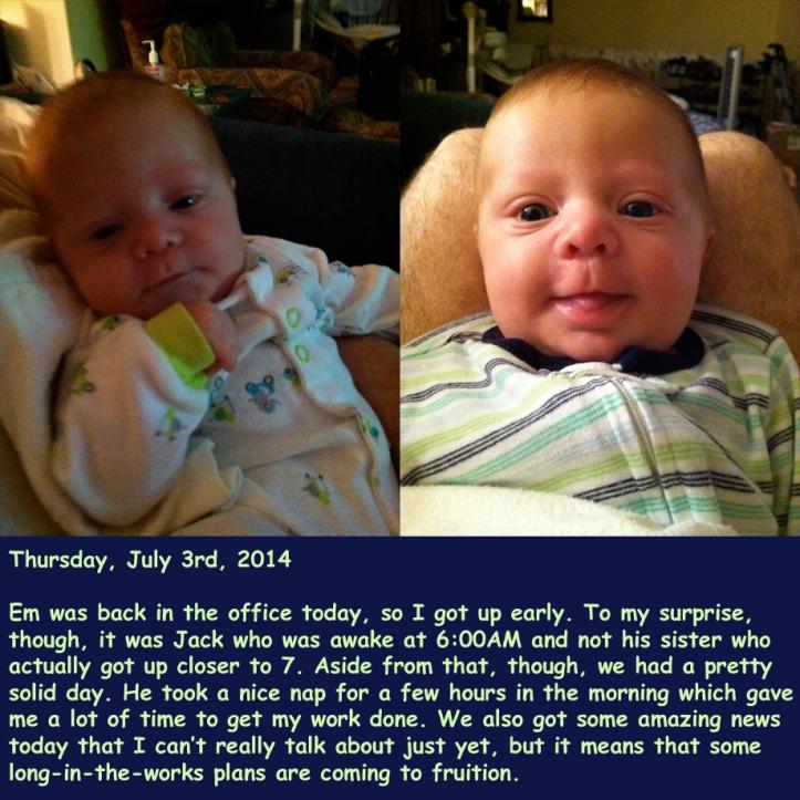 Thursday, July 3rd, 2014