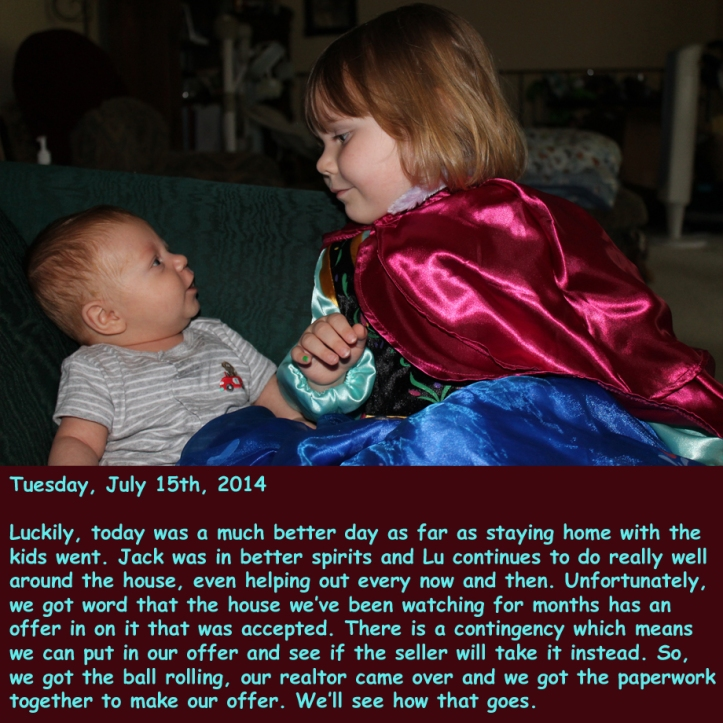 Tuesday, July 15th, 2014