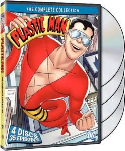 Plastic Man DVDs