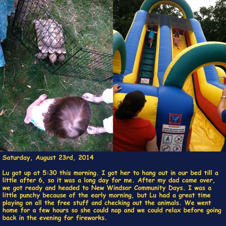 Saturday, August 23rd, 2014