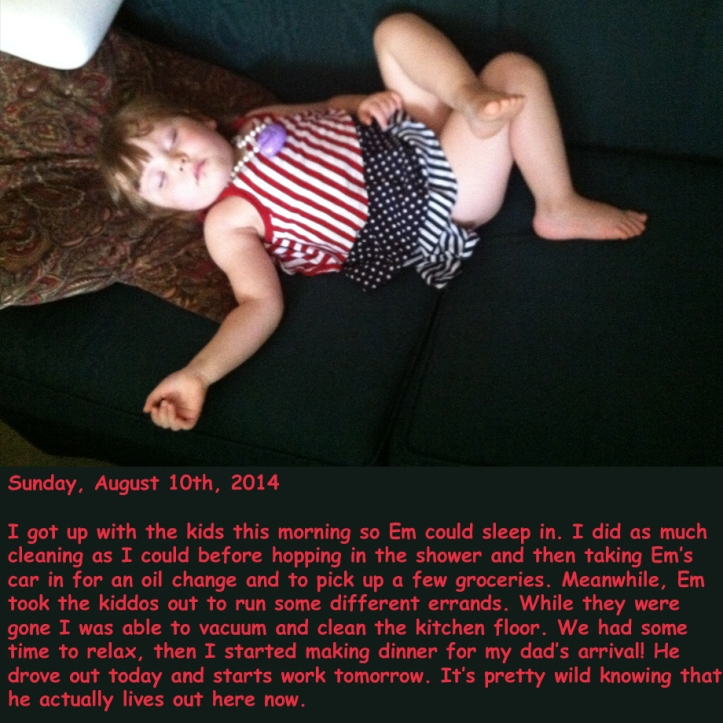 Sunday, August 10th, 2014