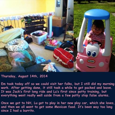Thursday, August 14th, 2014
