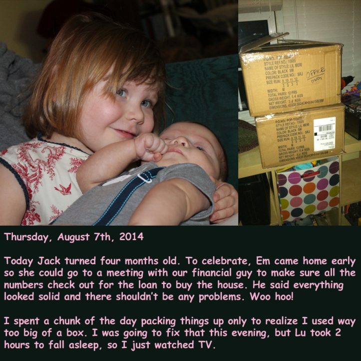 Thursday, August 7th, 2014