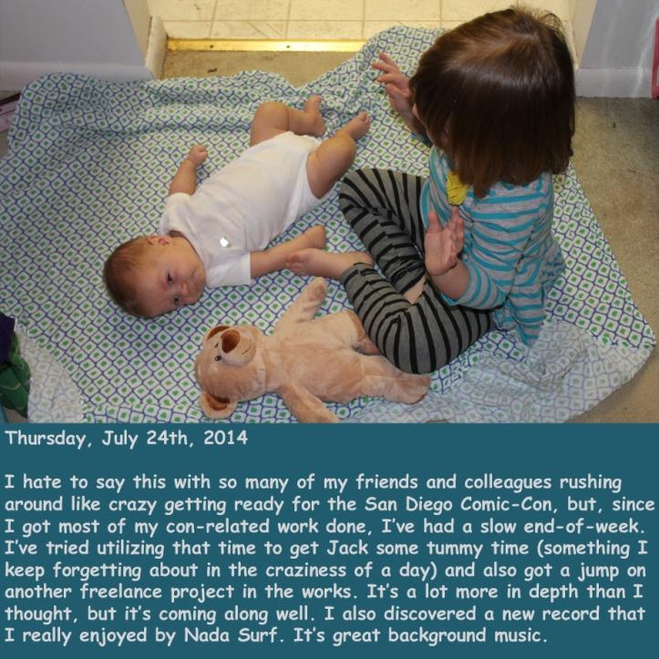 Thursday, July 24th, 2014