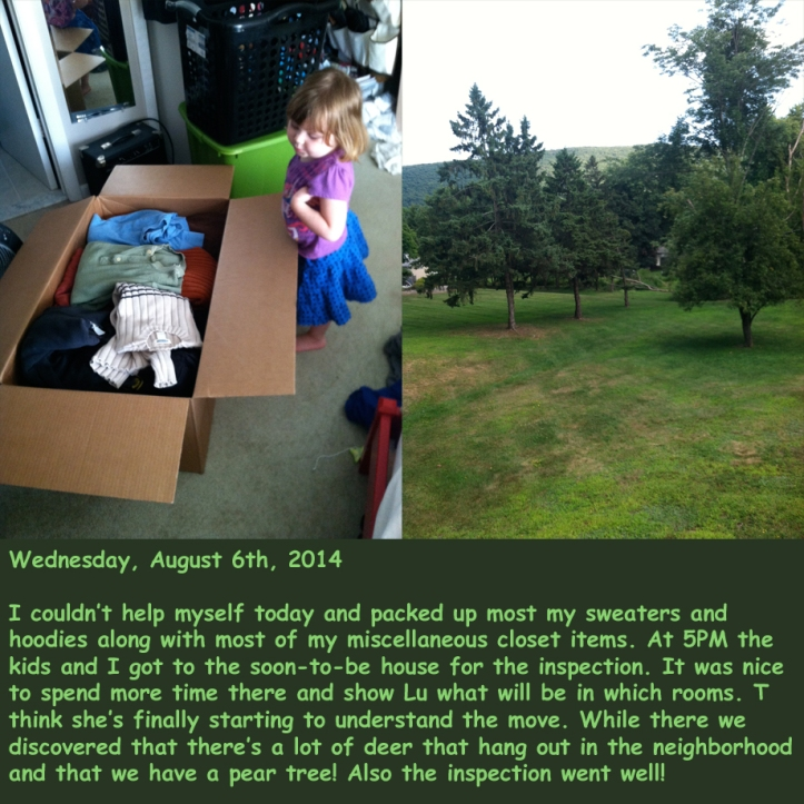 Wednesday, August 6th, 2014