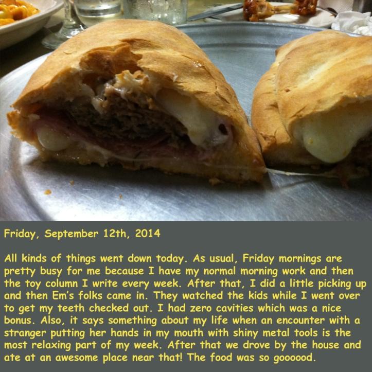 Friday, September 12th, 2014