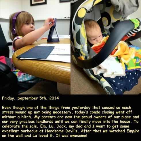 Friday, September 5th, 2014