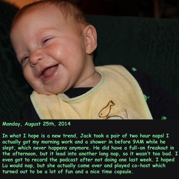Monday, August 25th, 2014