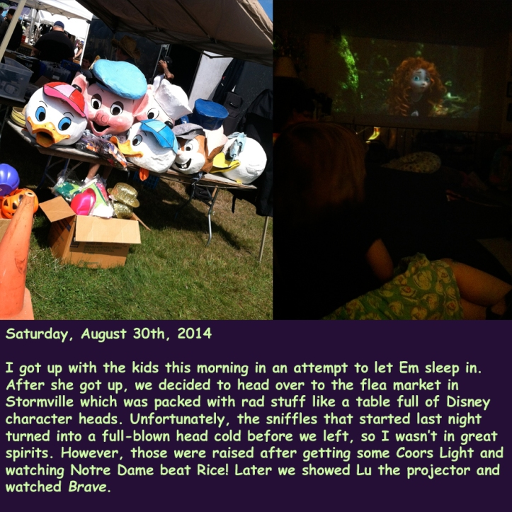 Saturday, August 30th, 2014